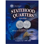 Whitman Statehood Quarters Folder