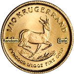 South Africa Gold Krugerrand 1/10 oz - BU - Random Date