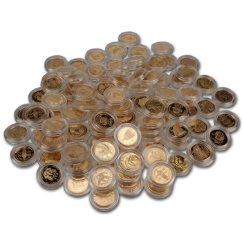 US Gold $5 Commemorative Coins (.24187 oz) - Random Date