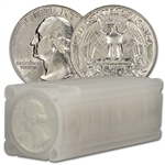 90% Silver Quarters - Brilliant Uncirculated - Roll of 40 - $10 Face Value
