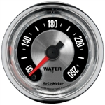 Auto Meter 1255 American Muscle 100-260 °F Water Temperature Gauge