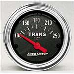 Auto Meter 2552 Traditional Chrome 100-250 °F Transmission Temperature Gauge