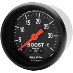 Auto Meter 2616 Z-Series 0-35 PSI Boost Gauge