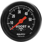 Auto Meter 2617 Z-Series 0-60 PSI Boost Gauge