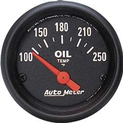 Auto Meter 2638 Z-Series 100-250 °F Oil Temperature Gauge