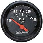 Auto Meter 2639 Z-Series 140-300 °F Oil Temperature Gauge