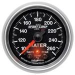 Auto Meter 3654 Sport Comp-II 100-260 °F Water Temperature Gauge