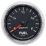 Auto Meter 3810 GS 0-280 Ohms Programmable Empty Fuel Level Gauge