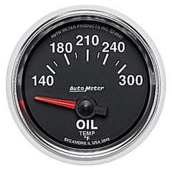 Auto Meter 3848 GS 140-300 °F Oil Temperature Gauge