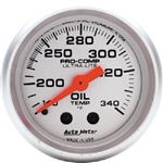Auto Meter 4346 Ultra-Lite 140-340 °F Oil Tank Temperature Gauge