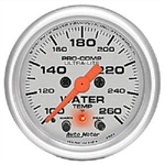 Auto Meter 4354 Ultra-Lite 100-260 °F Water Temperature Gauge