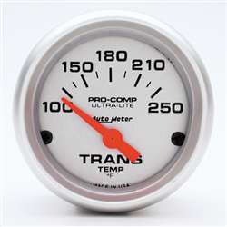 Auto Meter 4357 Ultra-Lite 100-250 °F Transmission Temperature Gauge