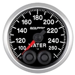 Auto Meter 5654 Elite Series 100-260 °F Water Temperature Gauge