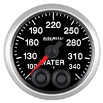 Auto Meter 5655 Elite Series 100-340 °F Water Temperature Gauge