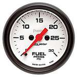 Auto Meter 5760 Phantom 0-30 PSI Fuel Pressure Gauge