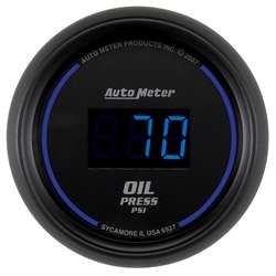 Auto Meter 6927 Cobalt 0-100 PSI Digital Oil Pressure Gauge