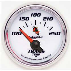 Auto Meter 7149 C2 100-250 °F Transmission Temperature Gauge