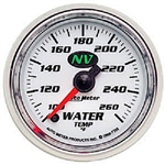 Auto Meter 7355 NV 100-260 °F Water Temperature Gauge