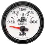 Auto Meter 7548 Phantom II 140-300 °F Oil Temperature Gauge