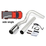 Banks Power 49764 Single Monster Exhaust System 2007-2011 Dodge 6.7L Cummins