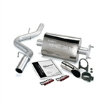 Banks Power 51312 Single Monster Exhaust System 1997-1999 Jeep 2.5L, 4.0L Wrangler