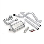 Banks Power 51321 Single Monster Exhaust System 2007-2011 3.8L Jeep Wrangler
