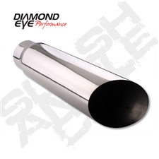 "Diamond Eye 4522AC 5"" Angle Cut Exhaust Tip"