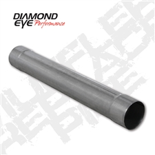 "Diamond Eye 510204 4"" Aluminized Muffler Replacement Pipe"