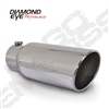 "Diamond Eye 5818BRA-DE 8"" Bolt-On Rolled End Angle Cut Exhaust Tip"