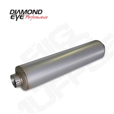 "Diamond Eye 800464 4"" Aluminized Muffler"