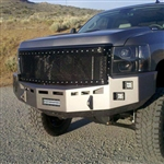 Fusion Bumpers FB-0710CHVFB Chevy Duramax Front Bumper for 2007.5-2010 Chevy Duramax 6.6L Diesel Trucks