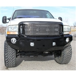 Fusion Bumpers FB-9904FORDFB Ford Powerstroke Front Bumper for 1994-2002 Ford Powerstroke 7.3L Diesel Trucks