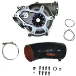 Garrett 739619-5004S GTP38R PowerMax Turbocharger Kit w/ Ball Bearing & 1.0 A/R TH 1995.5-2003 Ford Excursion, F-Series 7.3L