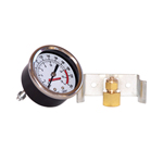 Kleinn Automotive Air Horns 1021 Air Pressure Gauge Analog Dash Mount