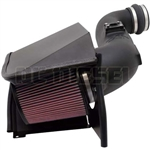 K&N 57-3057 Duramax Diesel 57 Series FIPK Performance Air Intake Kit
