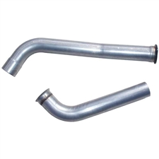 "MBRP DA6206 4"" Aluminized Down Pipe Kit for 2003-2007 Ford 6.0L Powerstroke"