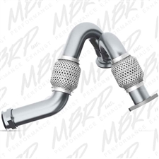 MBRP FAL2313 Aluminized Turbo Up-Pipe Kit for 2003-2007 Ford 6.0L Powerstroke