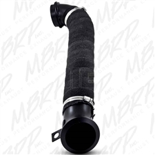 "MBRP GMCA424 3"" Black Coated Aluminized Down Pipe for 2004.5-2009 GM Duramax LLY, LBZ, LMM"