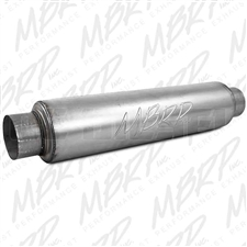 "MBRP GP015 30"" Aluminized High Flow Muffler"
