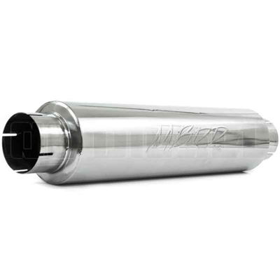 "MBRP M1004S 4"" Stainless T409 Quiet Tone Muffler"