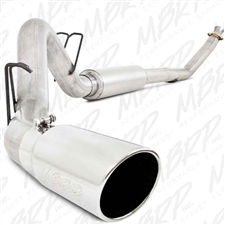 "MBRP S6100AL 4"" Turbo Back Single Side Aluminized Exhaust for 1994-2002 Dodge 5.9L Cummins"