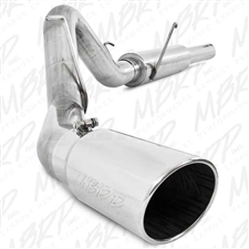 "MBRP S6108409 4"" Cat Back Single Side Stainless T409 Exhaust for 2004.5-2007 Dodge 5.9L Cummins"