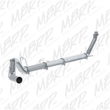"MBRP S61120PLM 5"" Turbo Back Single Side Aluminized Exhaust for 1994-2002 Dodge 5.9L Cummins"