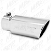 "MBRP T5051 5"" Rolled Edge Angle Cut Stainless T304 Exhaust Tip"