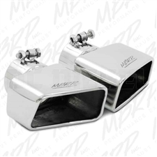 "MBRP T5119 4.5""x 2.75"" Rectangle Angled Cut Stainless T304 Exhaust Tip"