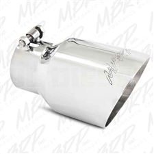 "MBRP T5151  4.5"" Dual Wall Angle Cut Stainless T304 Exhaust Tip"