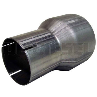 MBRP UA2003 Aluminized Exhaust Pipe Adapter, 3.5 to 5 Inch
