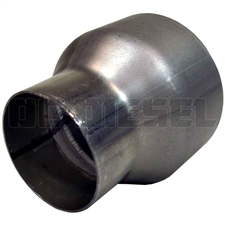MBRP UA2005 Aluminized Exhaust Pipe Adapter, 3.5 to 5 Inch