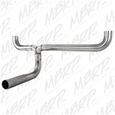 MBRP UT1001 Stainless T409 T-Pipe Kit