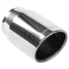 "MagnaFlow 35148 5"" Round Single Wall Rolled Edge Angle Cut Exhaust Tip"